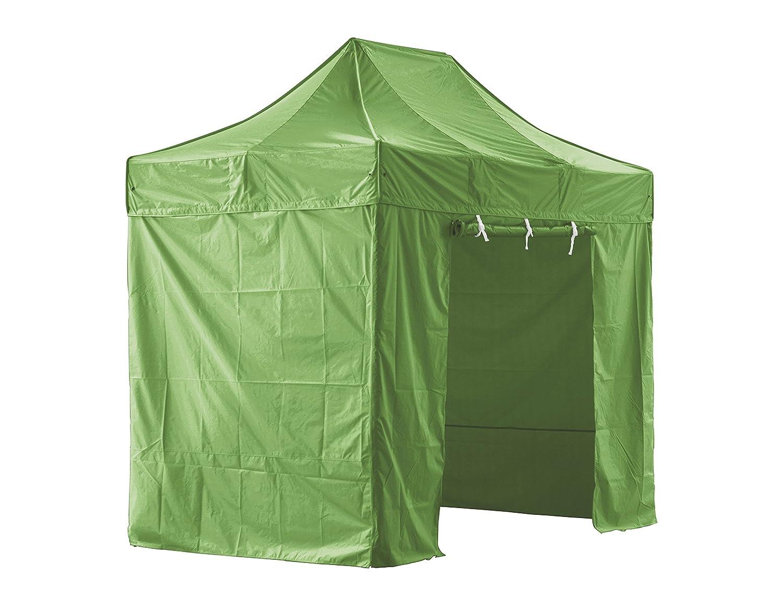 GREADEN Zelt Klapptisch Grüne mit 4 Wände Abnehmbare 2 x 3 m Super – Tube 40 mm Aluminium – BÃ ¢ Che 420D – Barnum zusammenklappbar – gr-1fbm23420po3