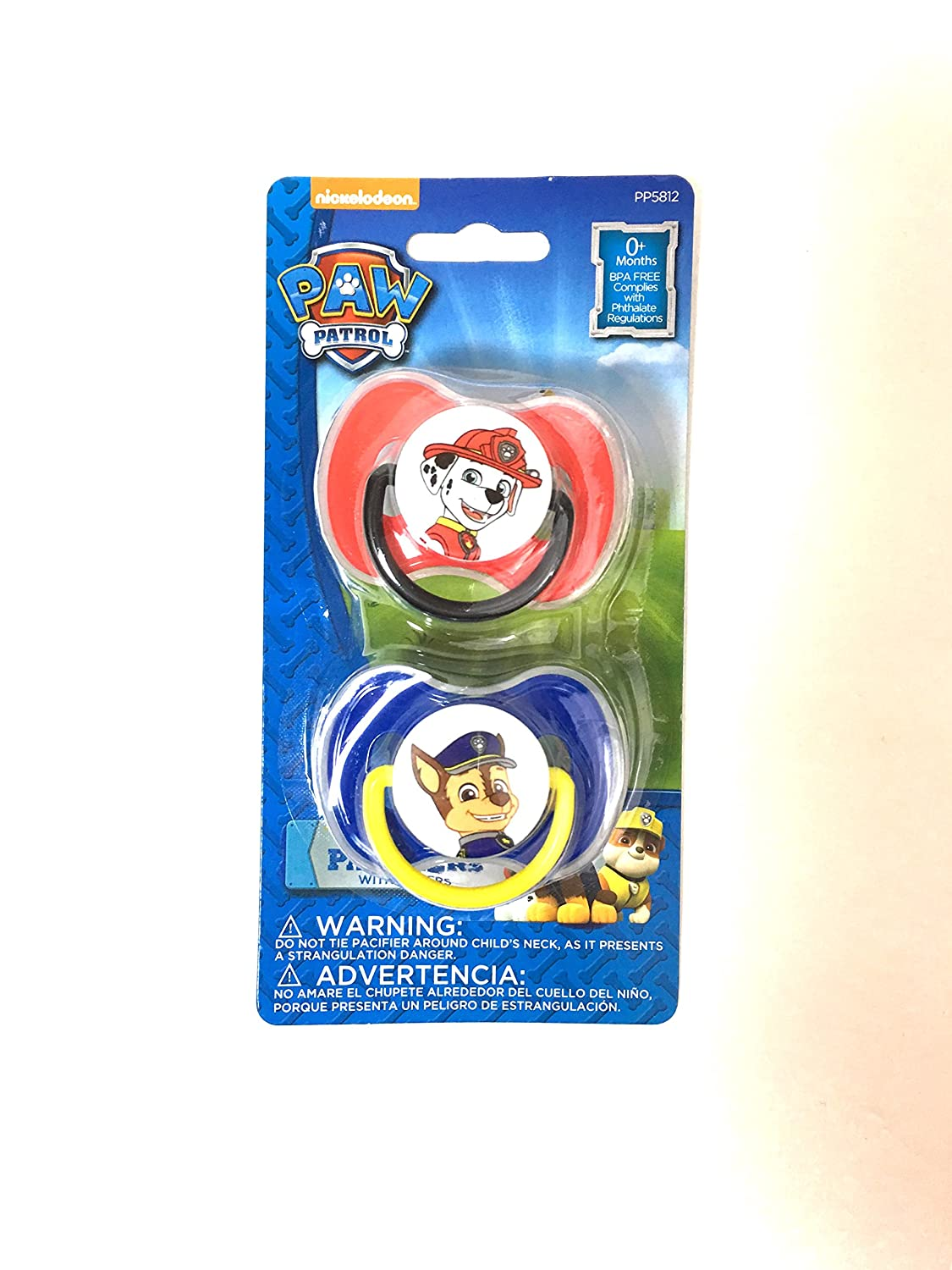 Amazon.com : Chase and Marshall Pacifiers -2 pack : Baby