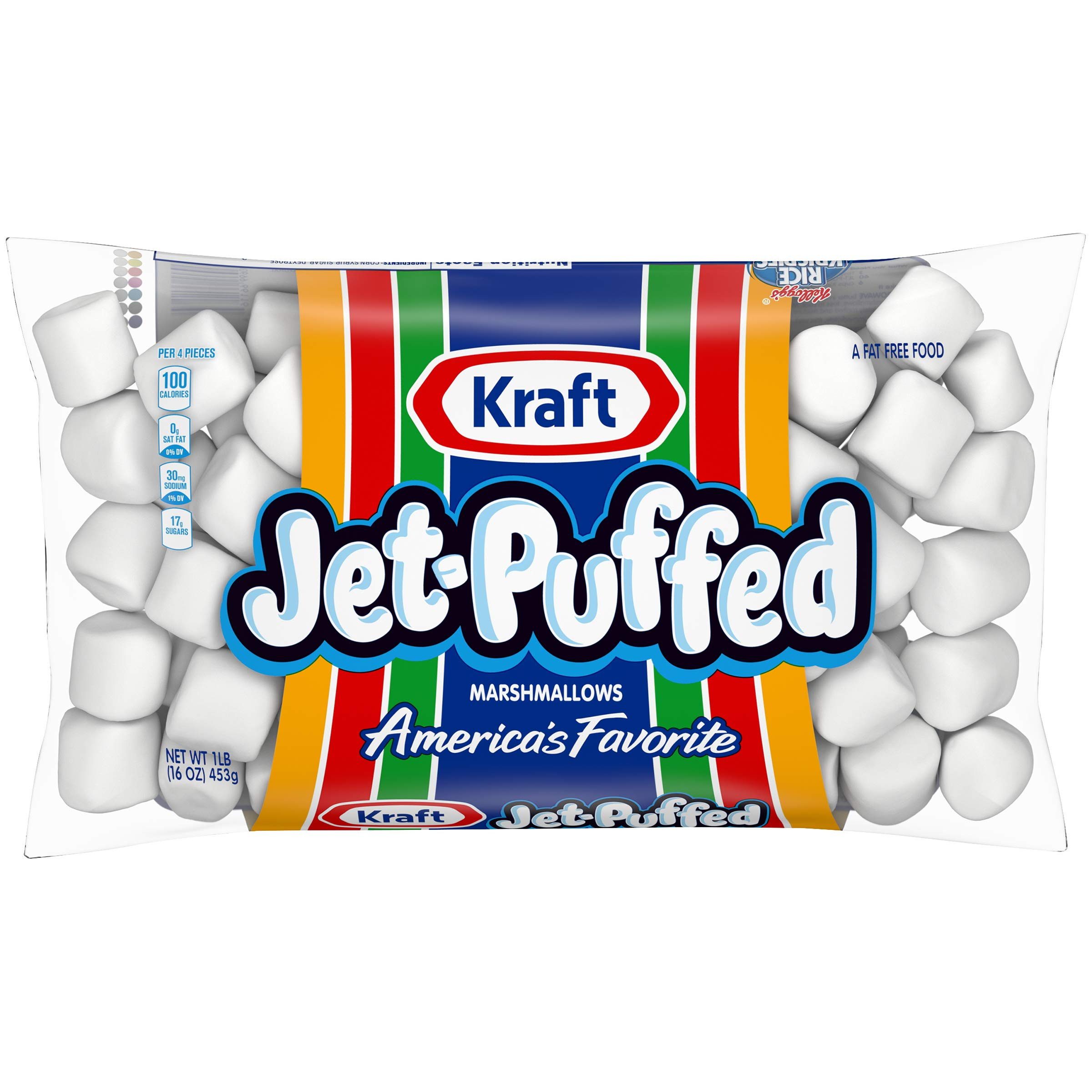 Jet Puffed Marshmallows (16 oz Bag, Pack of 12) by Jet-Puffed