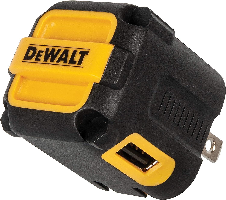 DEWALT NeverBlock 2-Port Worksite USB Charger