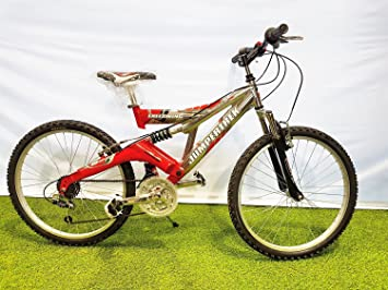 Bike Bicycle 24 Cinzia Freeswing Jumpertrek Full Suspension In