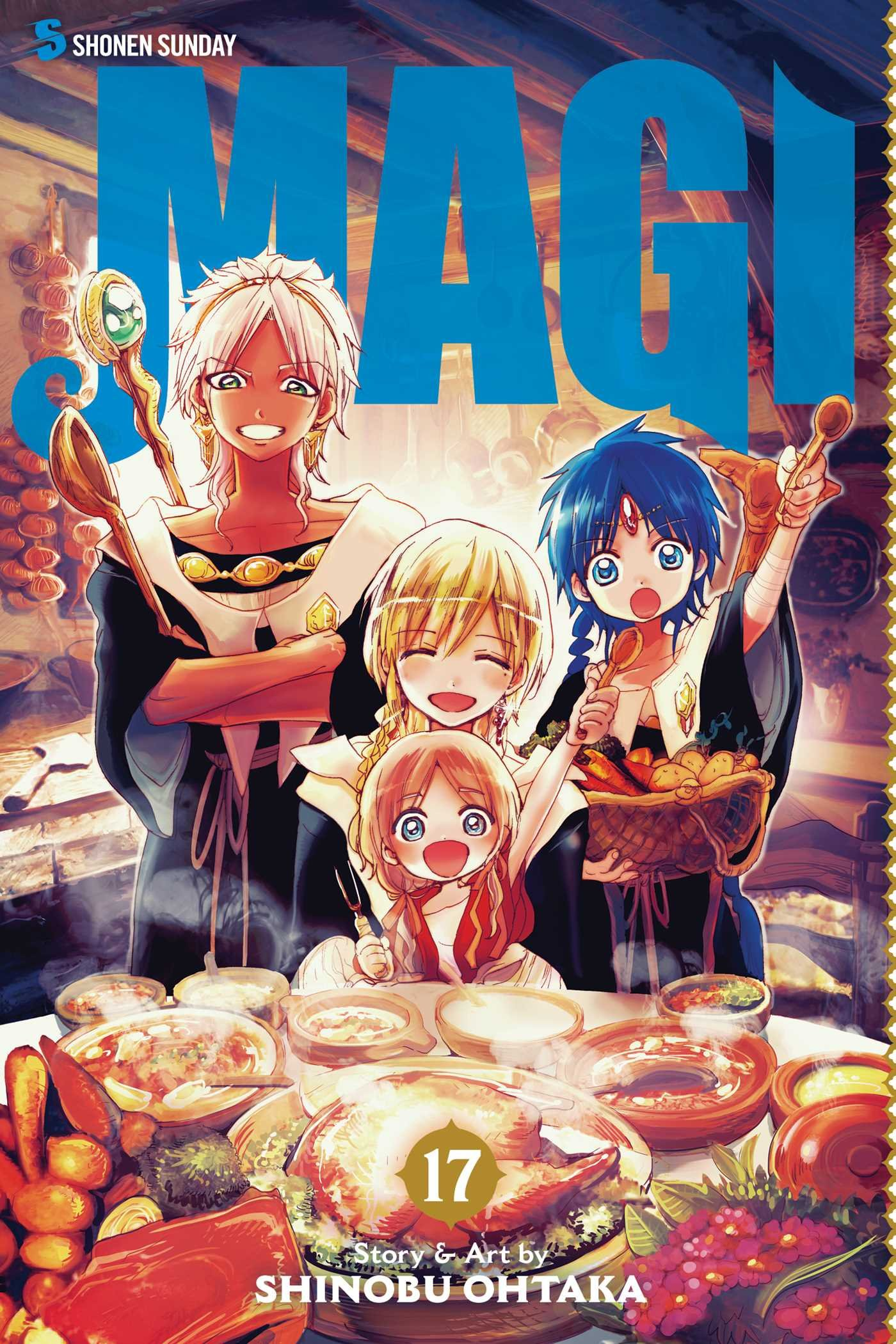 Magi: The Labyrinth of Magic, Vol. 17 PDF