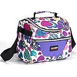 Lunch Bag For Women Kids Girls Boys Reusable Insulated Lunch Box Tote Bag for Men & Women, Kids, Front Pocket for Small Items,Zipper Closure, Handle Adjustable shoulder Strap