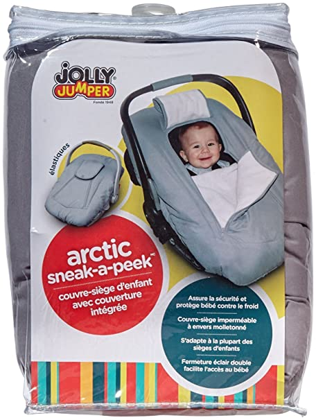 Fine Jolly Jumper Arctic Sneak A Peek Infant Car Seat Cover Red Pabps2019 Chair Design Images Pabps2019Com