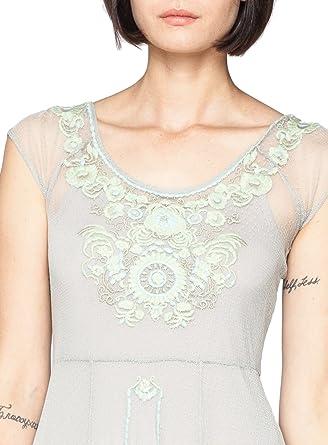 Biya By Johnny Was Jin Mesh Dress (Medium) at Amazon Womens Clothing store: