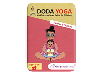 The Purple Cow Doda Yoga-Parents and Children Game ...