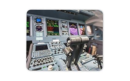 Amazon com: Jumbo Jet Flight Simulator Cockpit Controls Mouse Mat