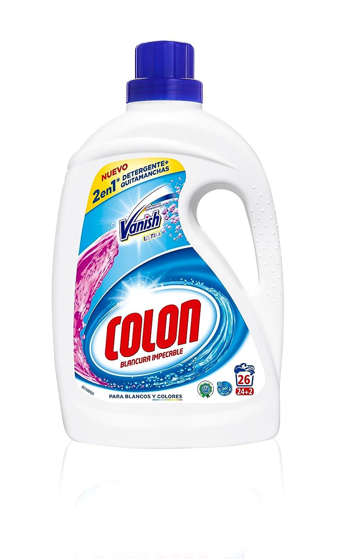 Colon Detergente liquido con Vanish, 24 lavados Vanish Detergente Liquido 24 lavados - 1635 ml: Amazon.es: Alimentación y bebidas