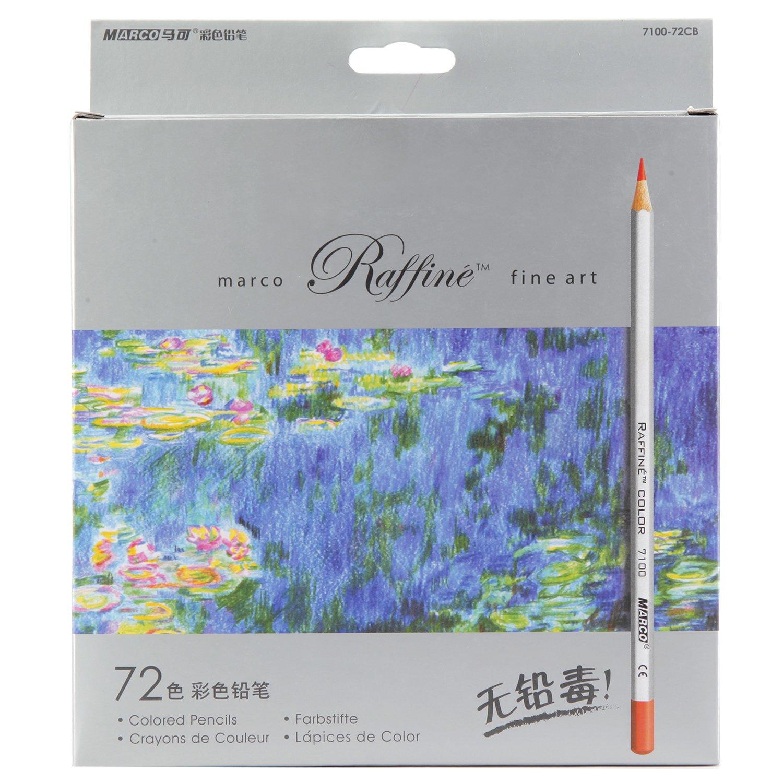Marco Raffine Fine Art, 72 colored pencils by Marco