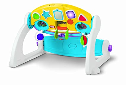 Amazon Com Little Tikes 5 In 1 Adjustable Gym Toys Games