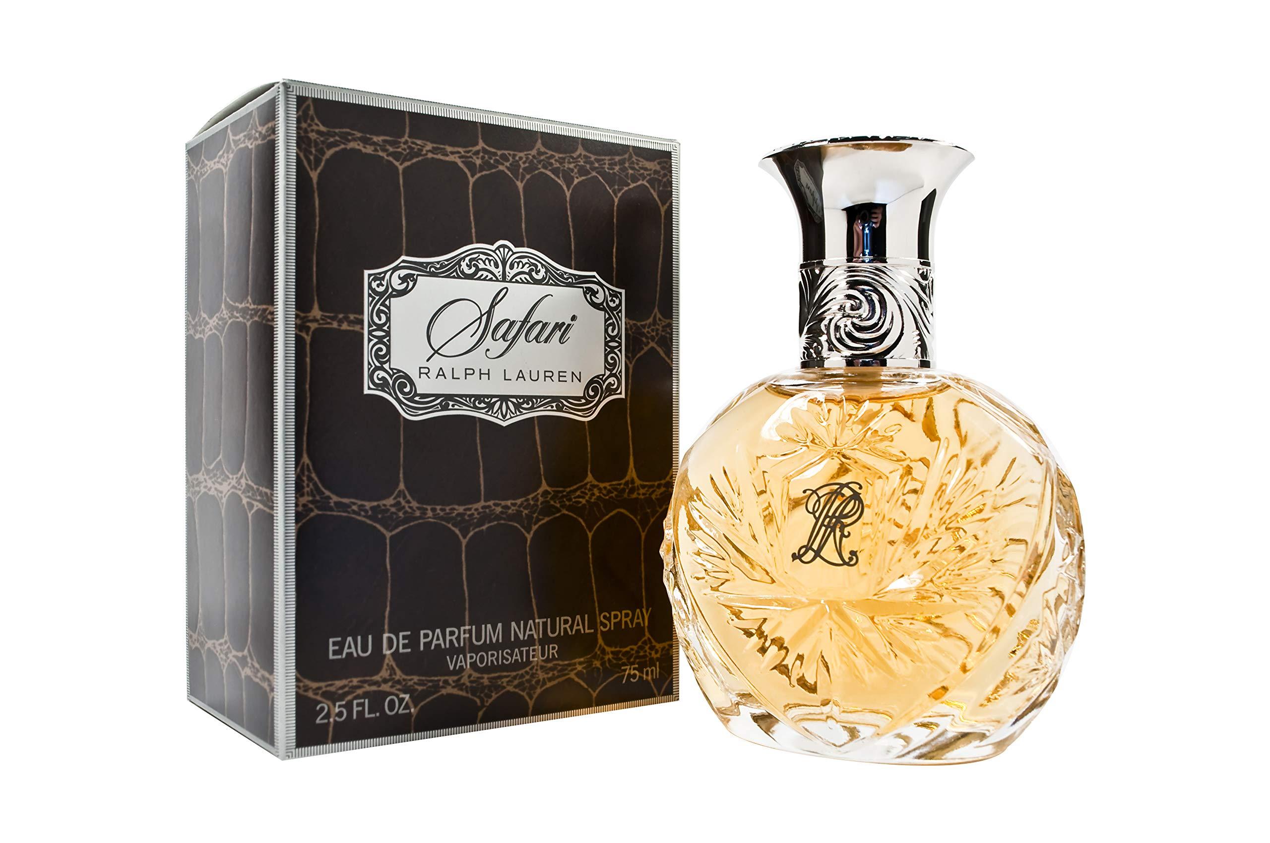 Ralph Lauren Safari Women Eau De Parfum Spray, 2.5 Ounce (Packaging May Vary)