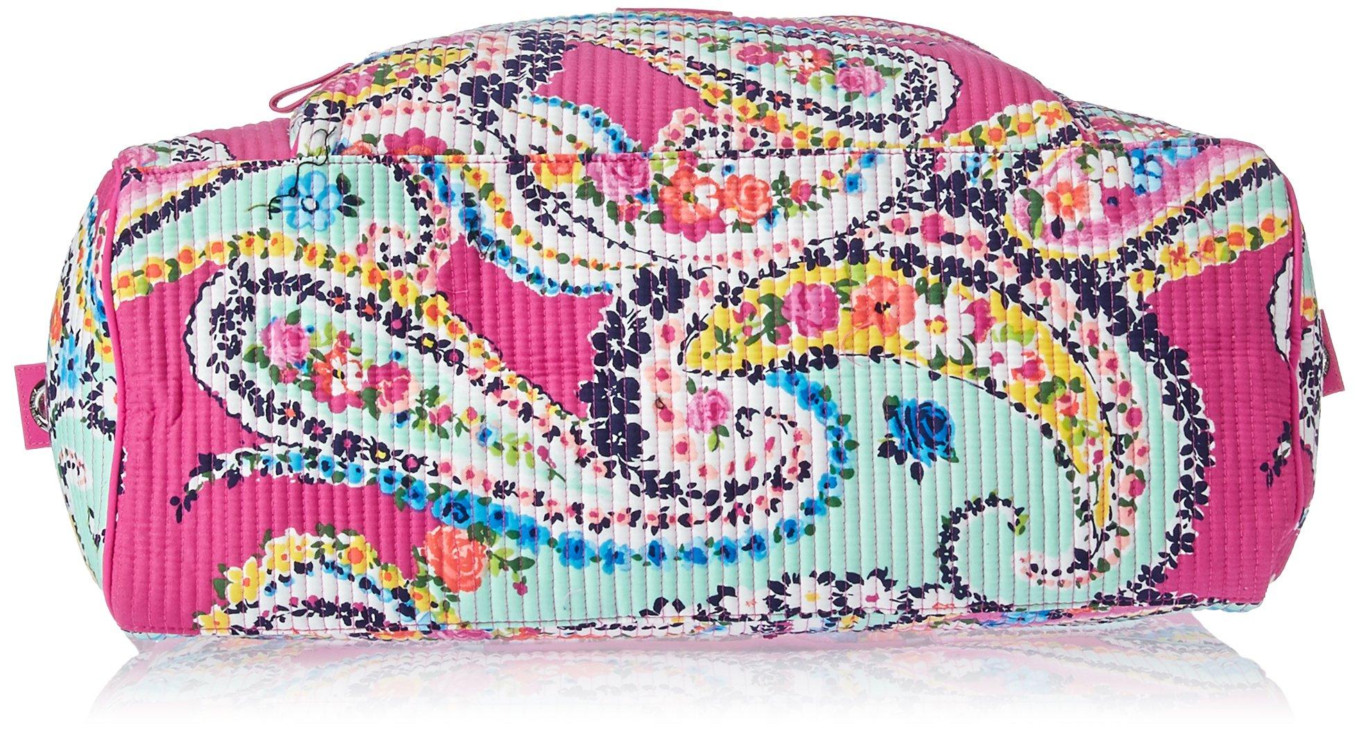 Vera Bradley Iconic Deluxe Weekender Travel Bag, Signature Cotton by Vera Bradley (Image #4)