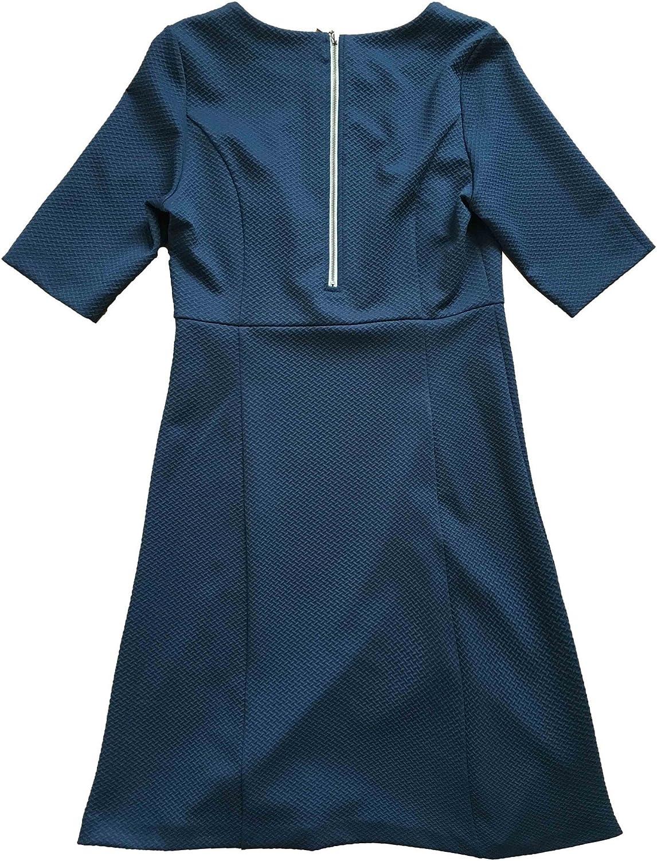 PARSAEA Womens Half Sleeve Shift Dress