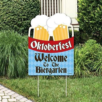 Custom Personalised Oktoberfest German Beer Party Banner Decorations Supplies