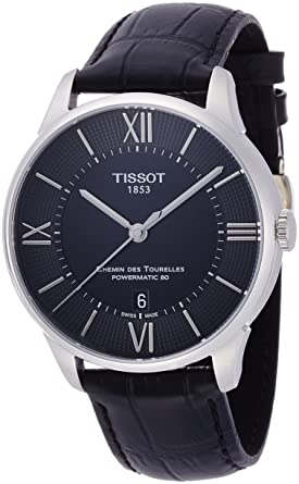 f76e4cddc31 Tissot Men s T0994071605800 Analog Display Swiss Automatic Watch with Black  Band