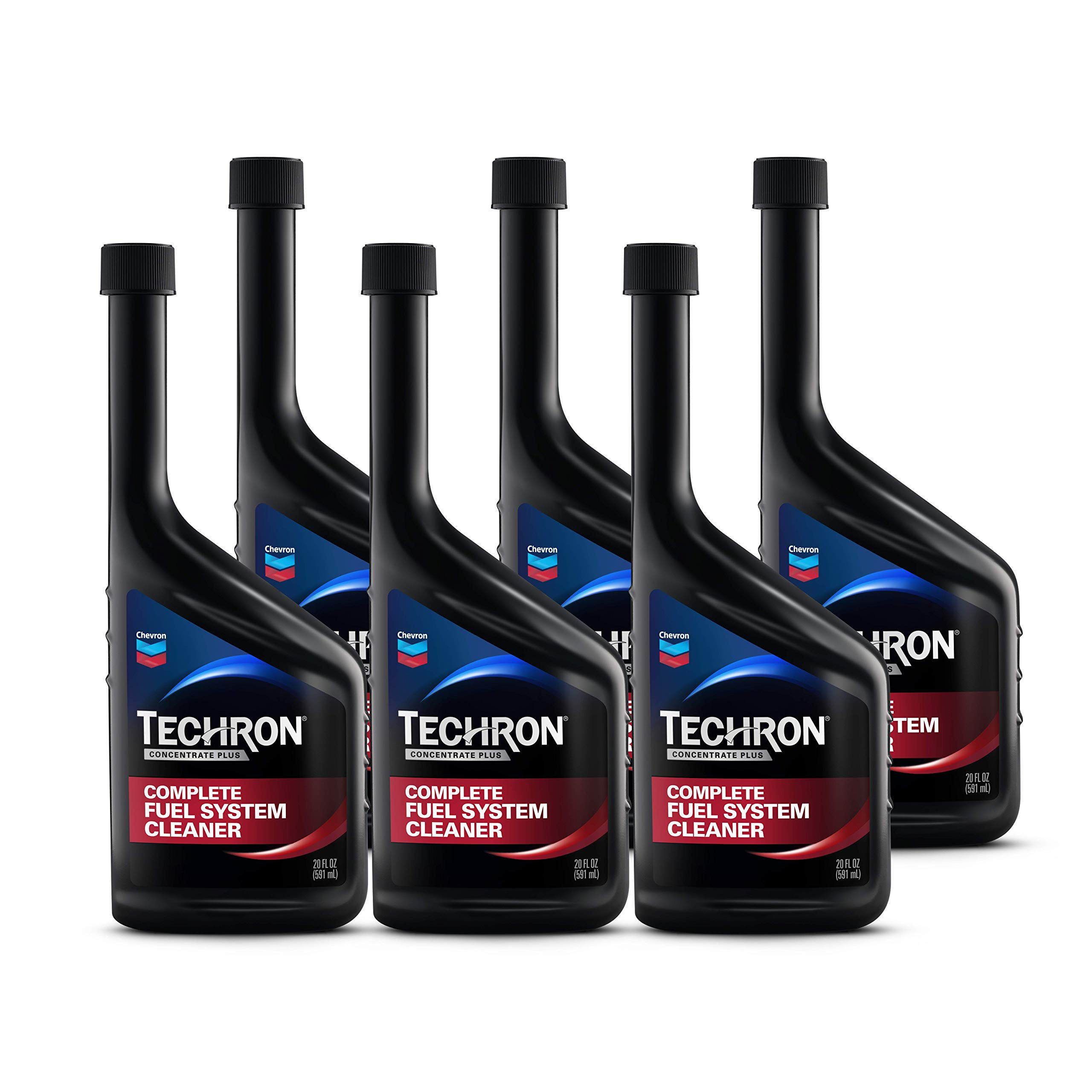 Chevron 65740-CASE Techron Concentrate Plus Fuel System Cleaner - 20 oz., (Pack of 6) by Chevron