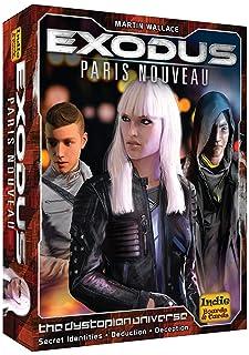 Indie Board & Card Games IBG0EXD1 Exodus Paris Nouveau, Multicolore