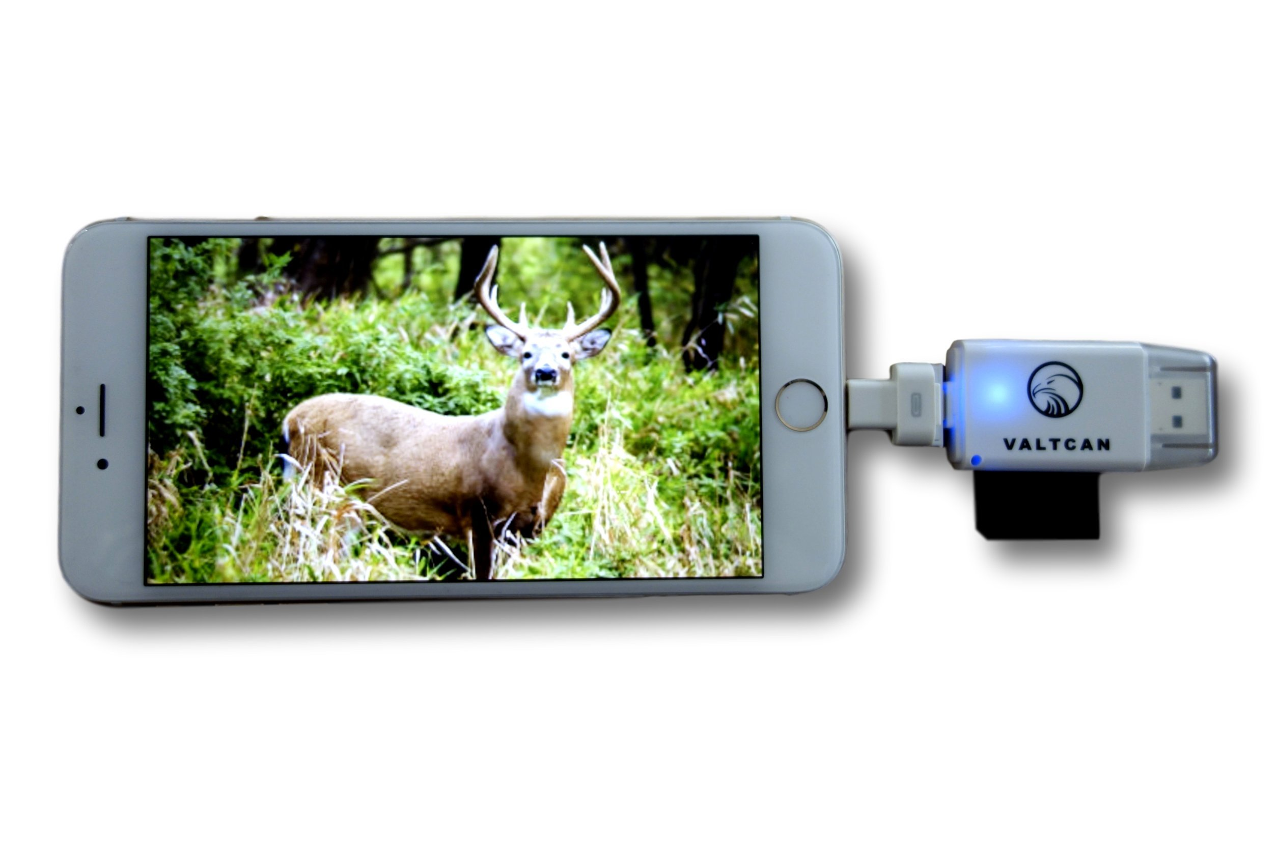 Valtcan Trail Camera Viewer for Apple iPhone & iPad, View Photos and Videos on Smartphone Instantly