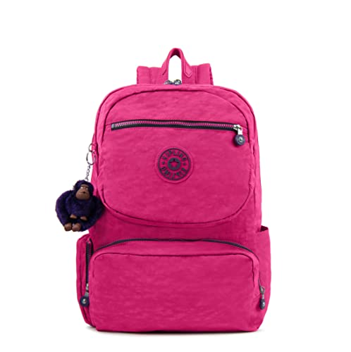 4f8e69a91ab3 (キプリング) kipling レディース バックパック Dawson Large Laptop Backpack BP3944 (Very Berry  Contrast
