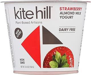 product image for Kite Hill, Artisan Almond Milk Yogurt, Strawberry, 5.3oz