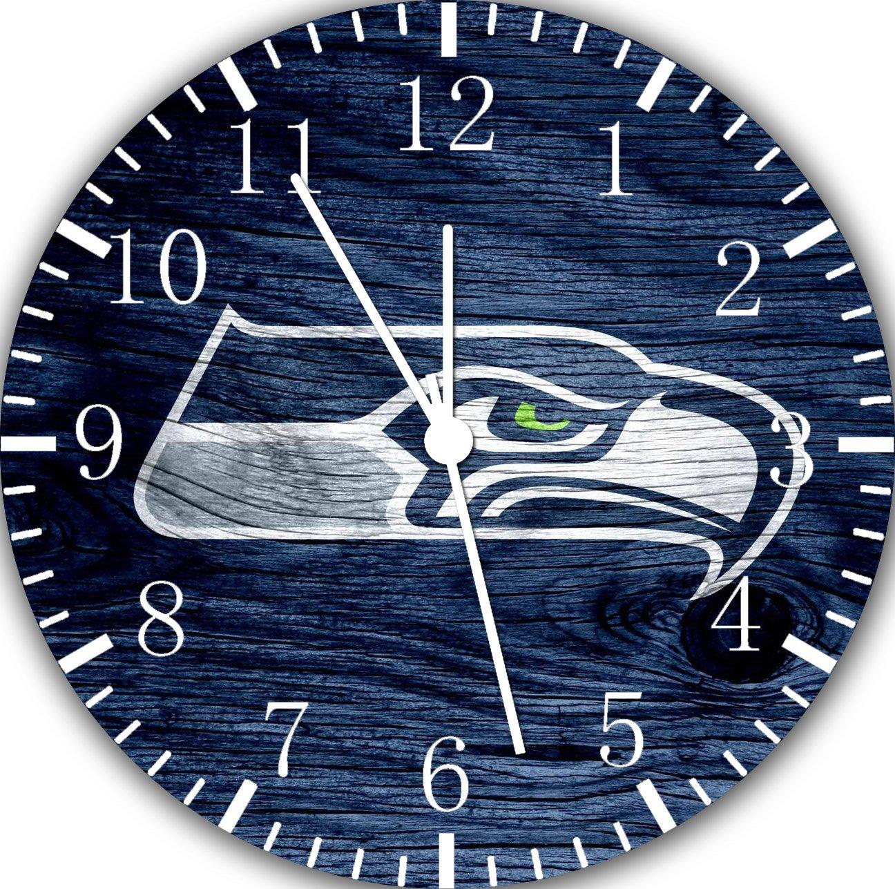 Seahawks Borderless Frameless Wall Clock E447 Nice For Decor Or Gifts