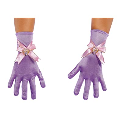 Rapunzel Child Gloves, One Size: Toys & Games