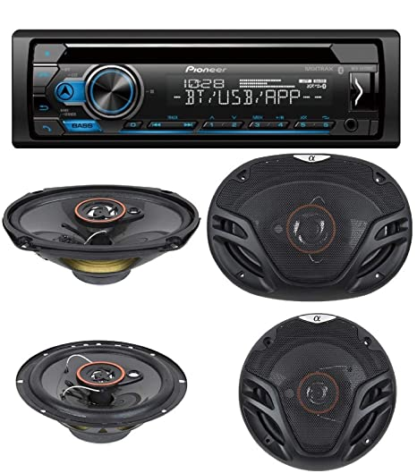 Amazon.com: Pioneer Single Din CD AM/FM Receiver with MIXTRAX, Bluetooth Dual Phone Connection, USB, Spotify, Pandora, iPhone and Android Music Support, ...