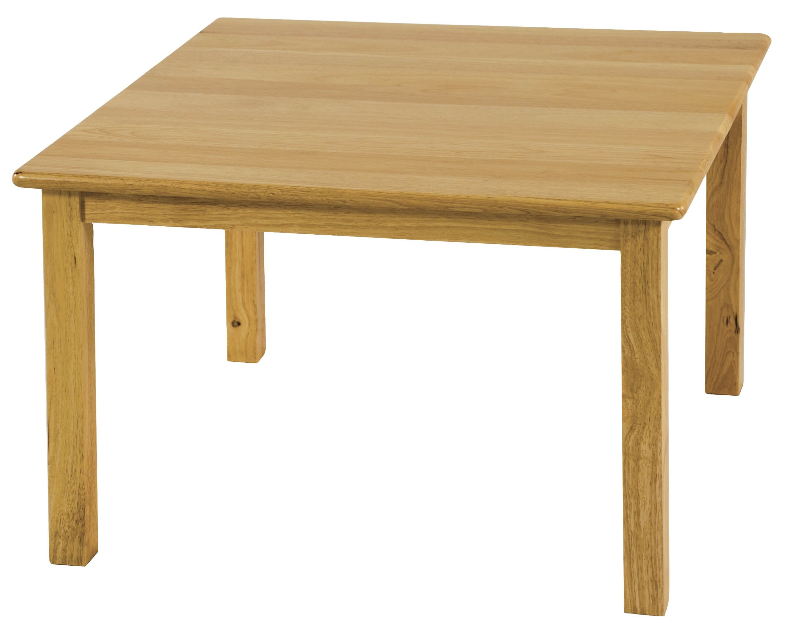 ECR4Kids 30'' Square Deluxe Hardwood Activity Table, 22''H