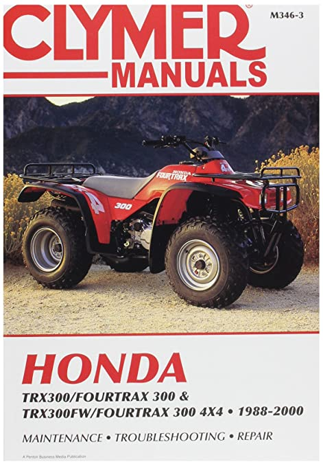 amazon com clymer m3463 repair manual automotive rh amazon com honda fourtrax es owners manual honda fourtrax 350 service manual