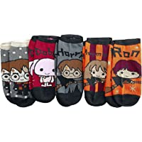HARRY POTTER Chibi Mujer Calcetines multicolor, ,