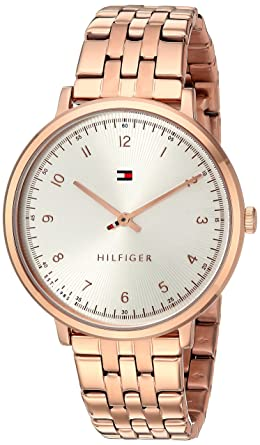 a8a005372a Image Unavailable. Image not available for. Colour: Tommy Hilfiger Analogue  Silver Dial Women's Watch ...