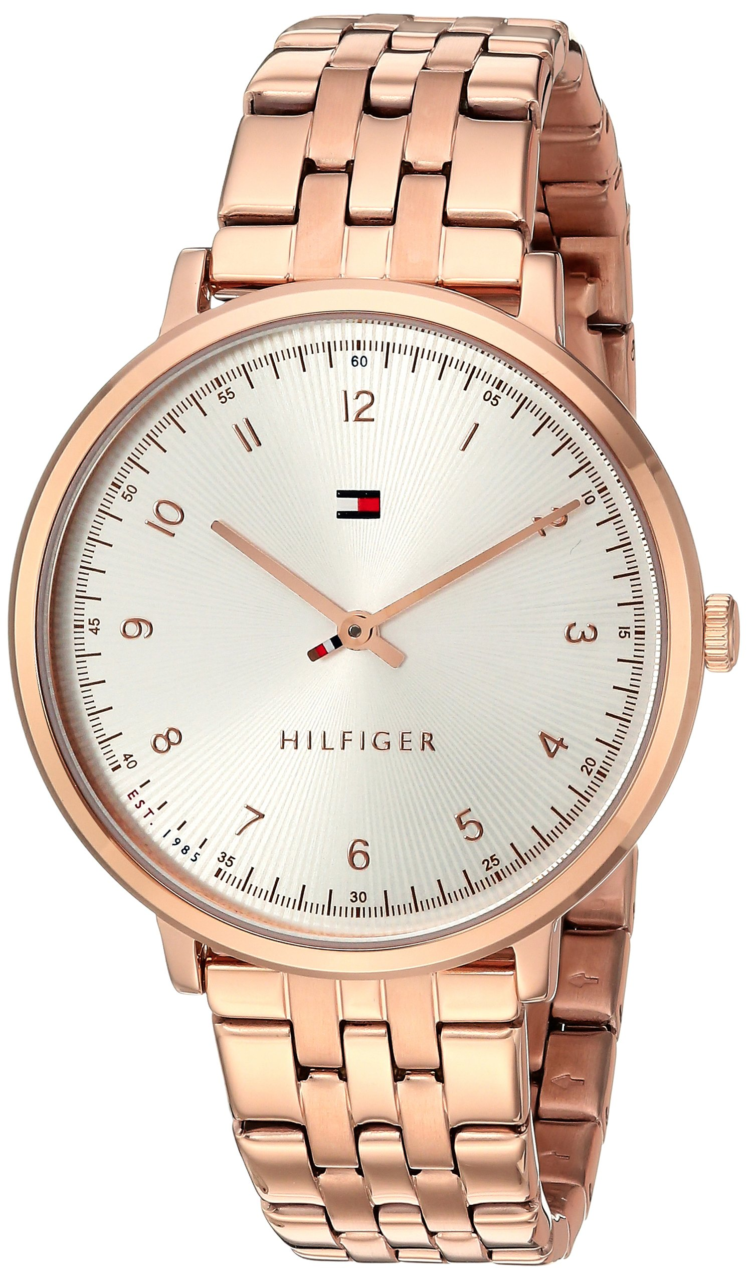 Tommy Hilfiger Women's SPORT Quartz Rose Gold-Tone Casual Watch (Model: 1781760)