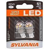 SYLVANIA ZEVO 921 T-16 W16W White LED Bulb, (Contains 2 Bulbs)