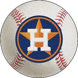FANMATS MLB Houston Astros Nylon Face Baseball Rug