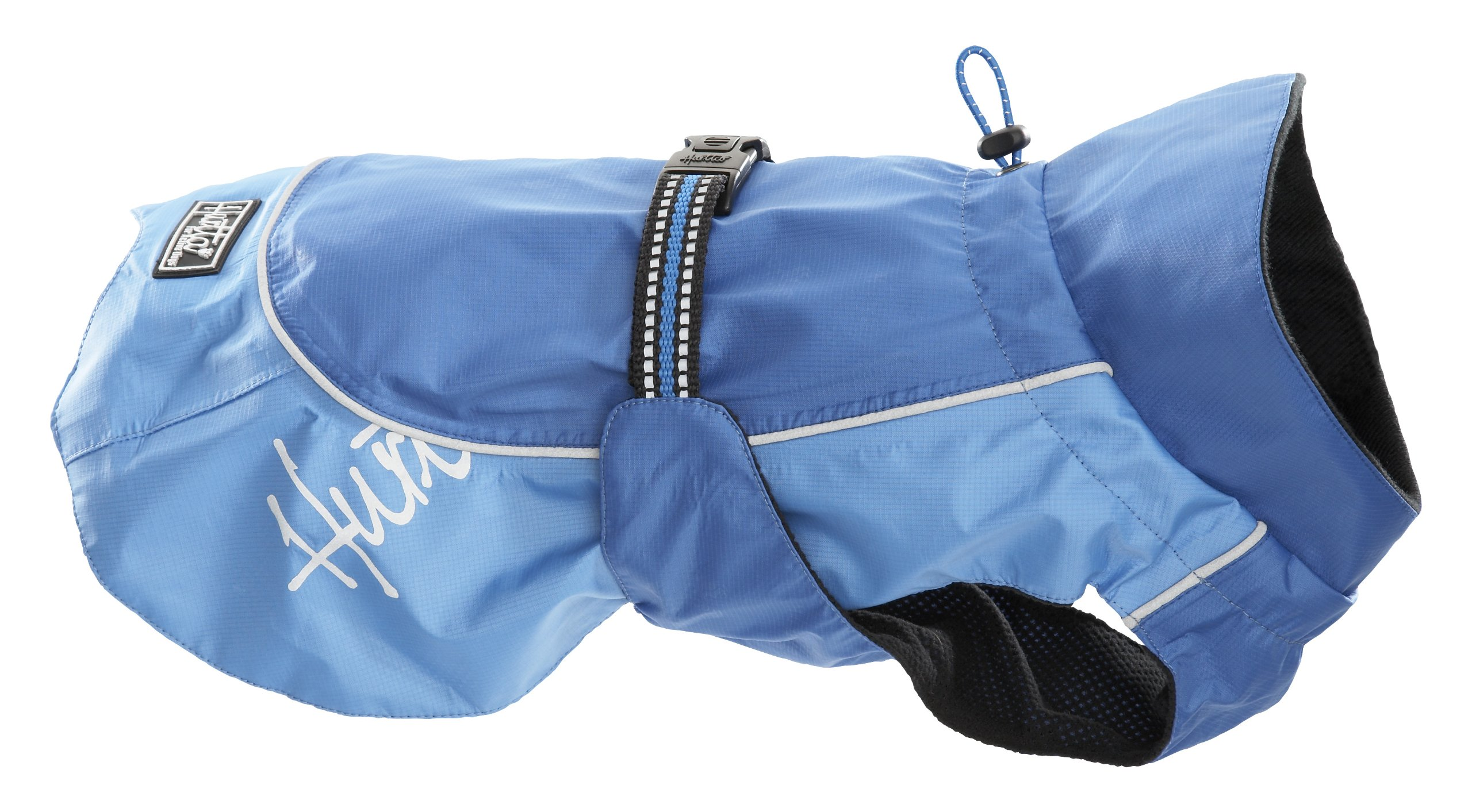 Hurtta Pet Collection Raincoat, 9-Inch Length, 12-14-Inch Neck, 14-18-Inch Chest, Blue