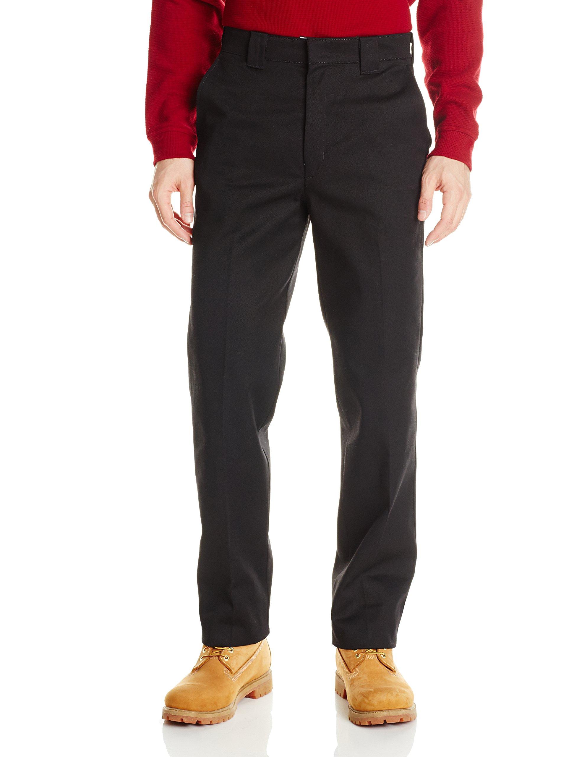 Red Kap Men's Utility Uniform Pant, Black, 54x30 by Red Kap