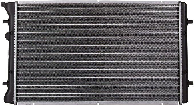 klimoto marca nueva Radiador para Golf Jetta 99 – 05 Audi A3 98 – 10 TT 1.8 1.9 2.0 L4 2.8 3.2 V6: Amazon.es: Coche y moto