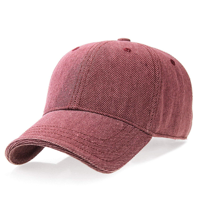 53b78eeb5 Amazon.com: 100% Cotton Men Baseball Cap Bones Caps Polo Hat Z-3025 ...