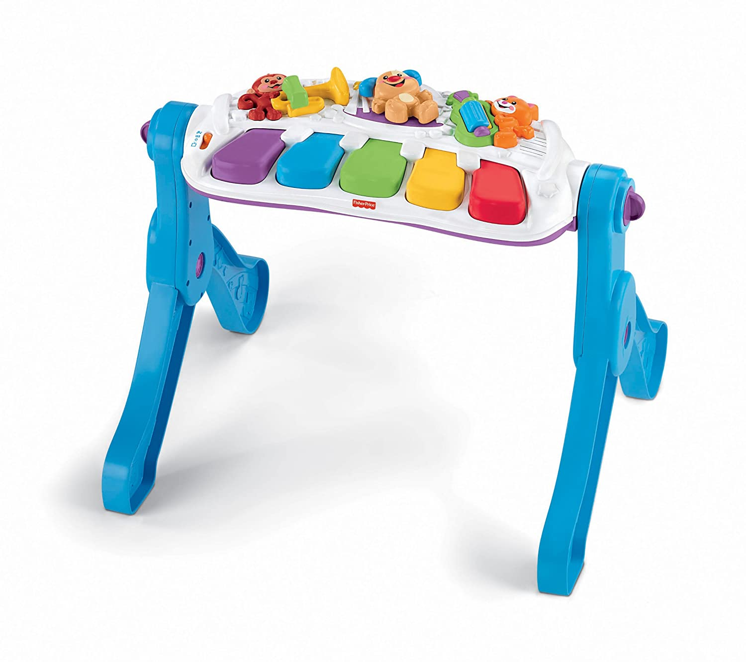 Amazon.com: Fisher-Price Laugh & Learn Learn & Move Music Station ...