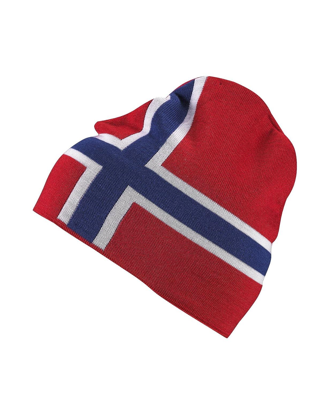 swix unisex norway beanie cap hat red blue for ski u0026 snowboard