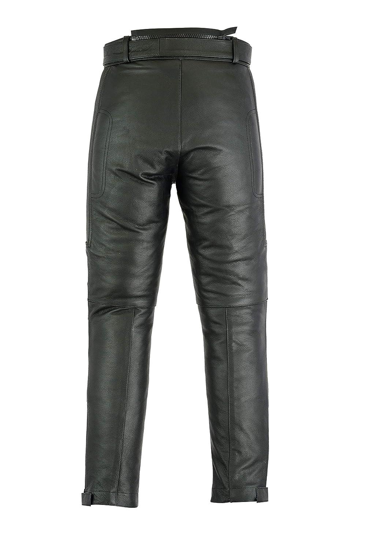 Cuir Homme W42 L31 Jean//Pantalon de Moto
