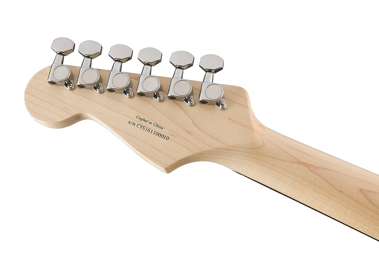 Squier por Fender Stratocaster Guitarra eléctrica contemporánea - HSS - palisandro diapasón - Océano azul metálico: Amazon.es: Instrumentos musicales