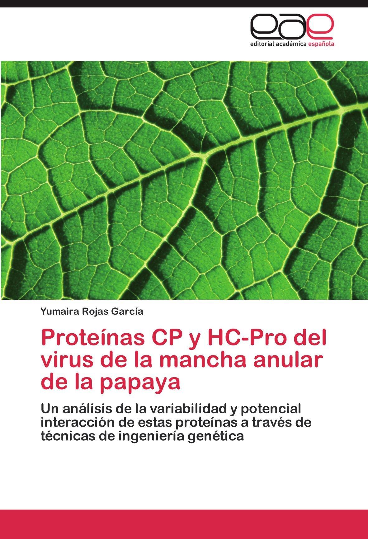 Proteínas CP y HC-Pro del virus de la mancha anular de la ...