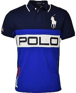 meet f665c e9a2b Polo Ralph Lauren Mens Custom Slim Fit Mesh City Polo Shirt ...