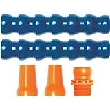 "Loc-Line Coolant Hose Starter Kit, Acetal Copolymer, 5 Piece, 3/4"" Hose ID"