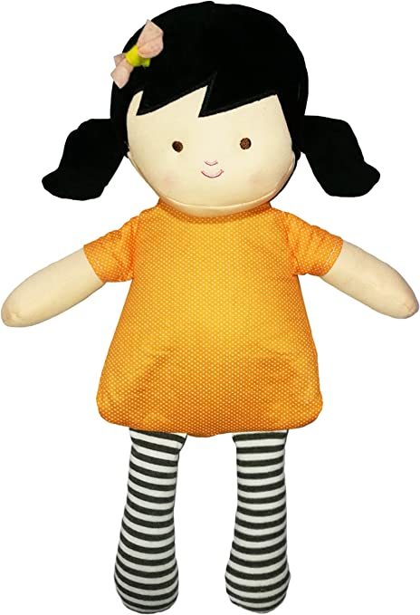 NEO+ Muñeca de Peluche con Vestido, para microondas Color Morena ...