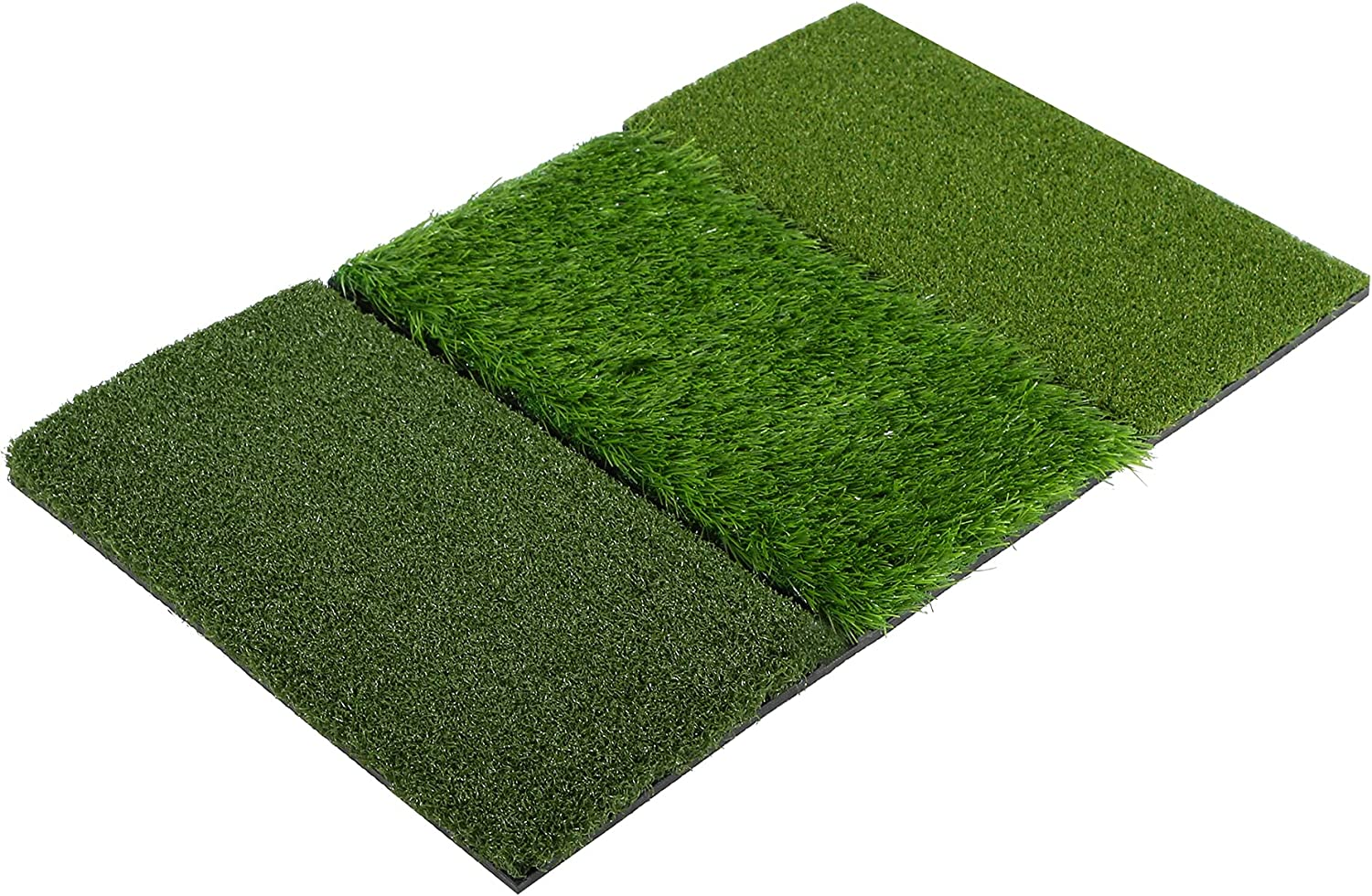 Lineslife Golf Hitting Mat, Artificial Golf Turf Practice Mat for Driving, Chipping, Swing, Idea for Backyard, Indoor, Outdoor, Home Use