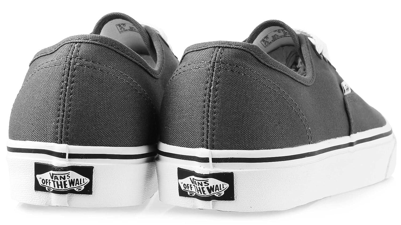 Vans Authentic Unisex Skate Trainers Shoes B00OJD84SY 12.5 11 B(M) US Women / 11 12.5 D(M) US Men|Pewter/Black 6b2805