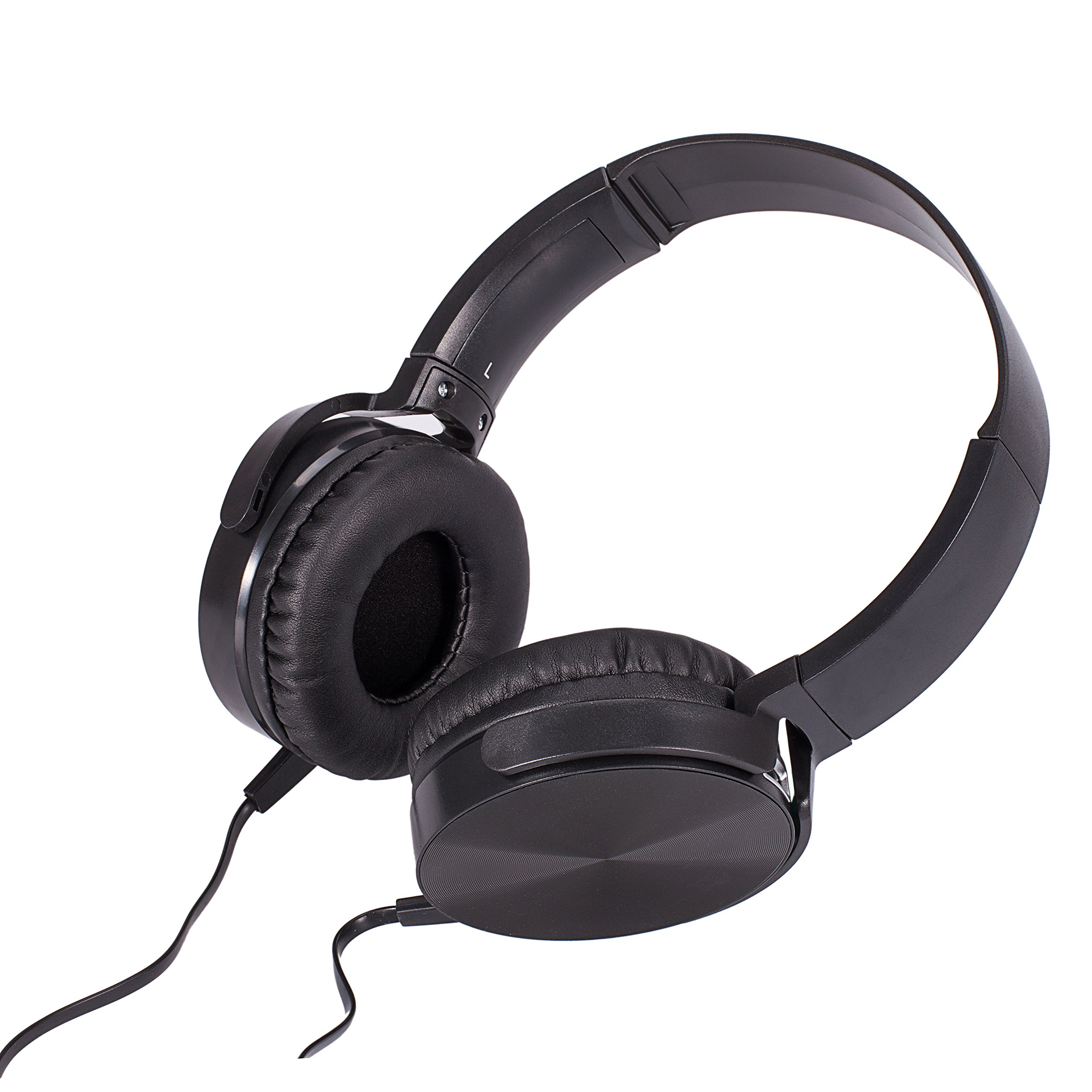 Wired Headphones Over Ear,Mclife Wired Headphones Earbuds,Foldable Headsets with Built-in Mic for PC,Computer,Mac,iPod,iPhone,Android Smartphone,etc