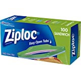 Ziploc Sandwich Bag, 100 count